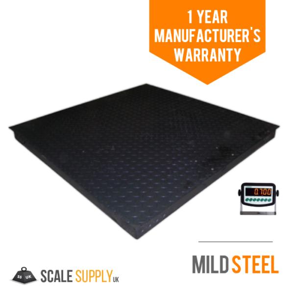 heavy duty mild steel platform scale