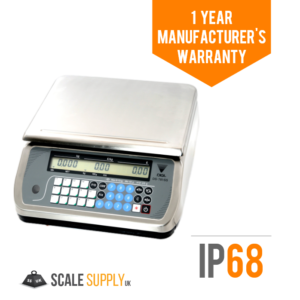 Digi Price Computing Scale Stainless Steel & Trade Approved