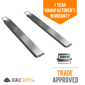 Stainless Steel Portable Weighbeams Trade Approved
