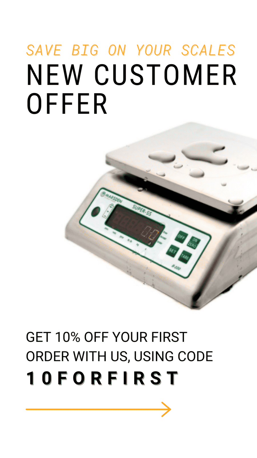 New Customer Offer! Get 10% OFF Your First Order With Us Using Code 10FORFIRST